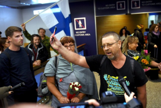 Finnish Christian missionaries held in Malaysia return home