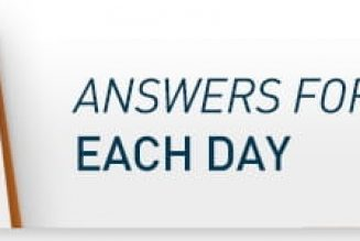 Answers for Each Day – August 10