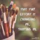 Little Steps to Big Change