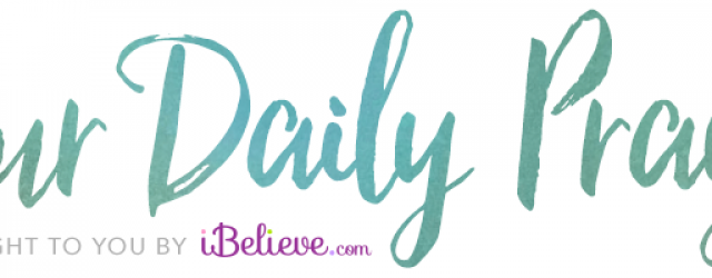 A Prayer for Christian Boldness – Your Daily Prayer – October 13
