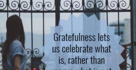 Seeking Gratitude: Finding the Way When God Lets Dreams Fail