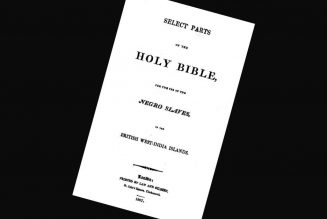 What Is the Slave Bible? Who Made it and Why?