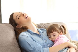 Battling Exhaustion as a Single Mom