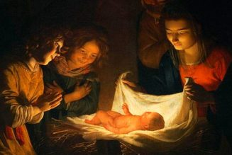 When you pray, the Christ Child awakens…