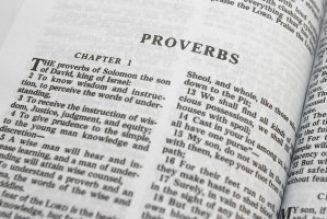 An admonition against lust from the Book of Proverbs…