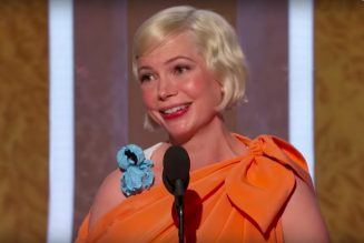 At Golden Globes, pregnant actress Michelle Williams attributes her success to an abortion she had…