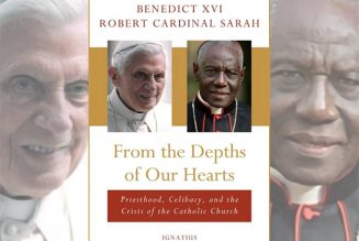 Benedict XVI, Cardinal Sarah co-author new book on priesthood and celibacy…