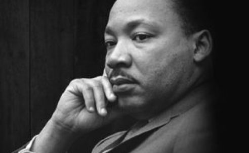 Dr. Martin Luther King's refutation of atheistic materialism…