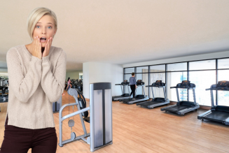 Exercise? I thought you said extra fries!…