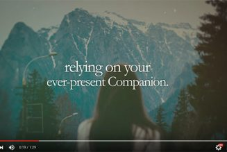 God is Our Companion – Jesus Calling Video Devotional by Sarah Young