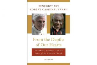 Ignatius Press says claims that Benedict XVI did not co-author book on celibacy are 'false'…