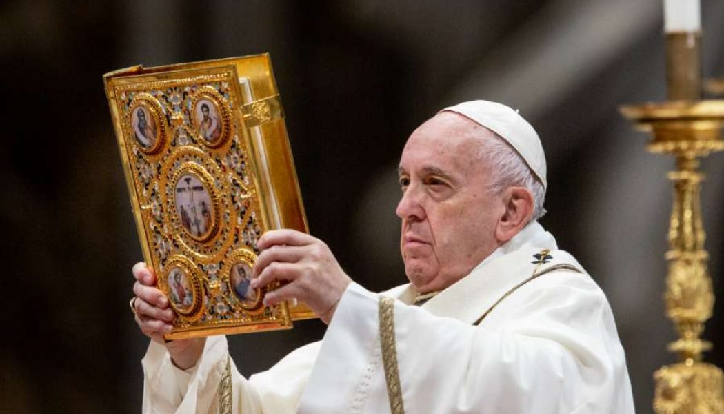 Pope Francis: 'When we do not worship God, we end up worshiping ourselves'…