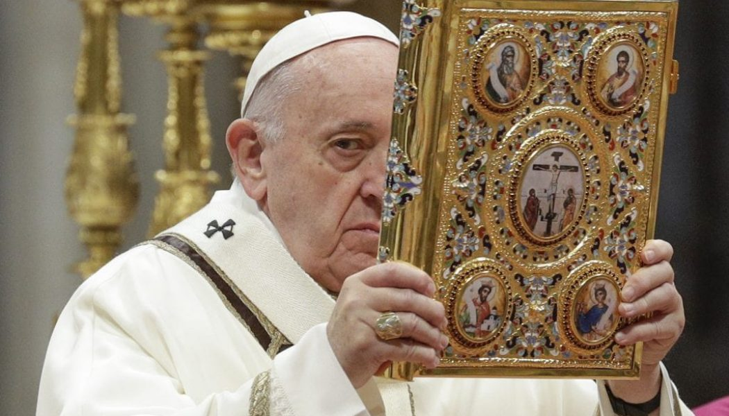 Pope prepares to celebrate first Sunday of the Word of God on Jan. 26…