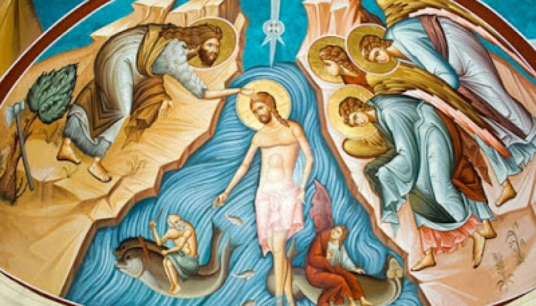 The Feast of the Baptism of the Lord…