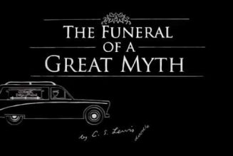 The funeral of a great myth — C.S. Lewis on evolution…
