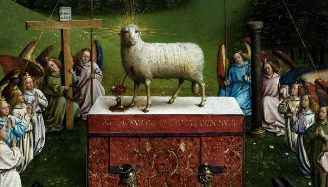 The Lamb from the 'Ghent Altarpiece' is worrying art lovers…