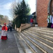 The Pope's point man on migrants, who was made a cardinal in October, takes over his titular parish…