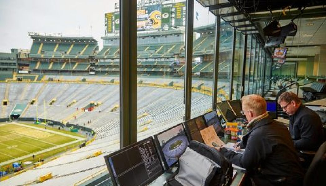A behind-the-scenes look at how Fox Sports pulls off an NFL post-season broadcast…