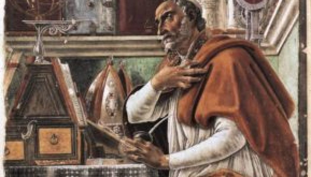 A teaching on desire, from St. Augustine…