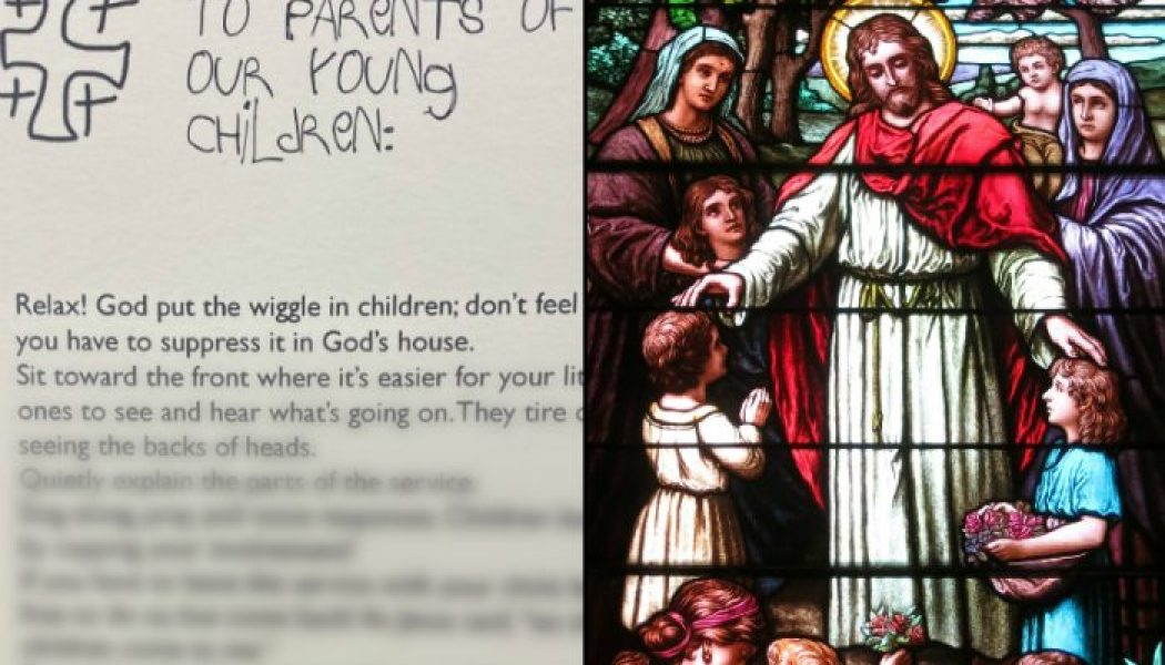 Are your kids difficult in Mass? What every Catholic parent of young children needs to hear…..