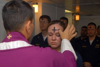 Ash Wednesday: 'Remember that you are dust, and to dust you shall return'…