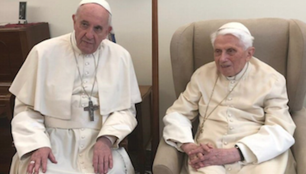 Francis' silence, Ratzinger's tears, and that never-published statement of his…