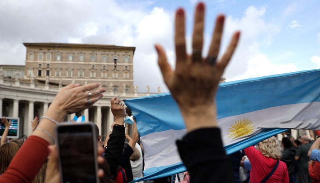One again, Argentina has dug itself into a financial hole — and this time, the new Argentinian president is hoping the Pope can help dig them out…