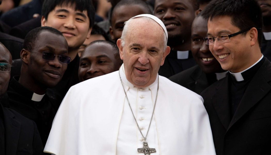 Pope Francis adds year of missionary work as requirement for future Vatican diplomat priests…