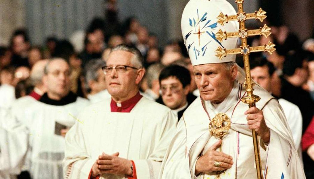 "Pope Francis in new book on St. John Paul II: ""I am convinced that celibacy is a decisive grace that characterizes the Latin Catholic Church""…"