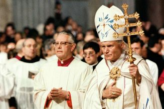 """Pope Francis in new book on St. John Paul II: """"I am convinced that celibacy is a decisive grace that characterizes the Latin Catholic Church""""…"""