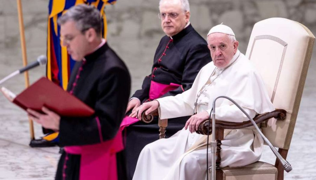 Pope's Wednesday Audience: 'Blessed are the meek' is not 'Blessed are the weak'…