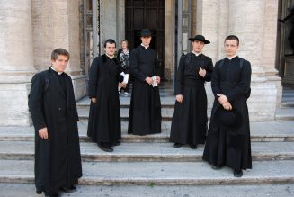 The clerical cassock: A black badge of courage…