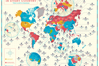 The oldest company in every country, mapped…