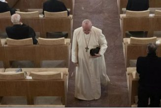 Despite staying home, Pope's vibe still will be felt during Lenten retreat…