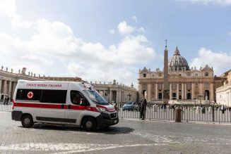 In Italy, at least 10 priests are dead of coronavirus, and 1 bishop is recovering…