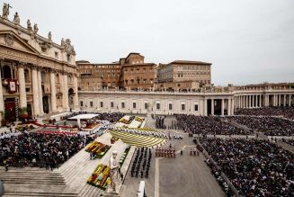 Pope Francis' Easter liturgies will be closed to the public, Vatican announces…