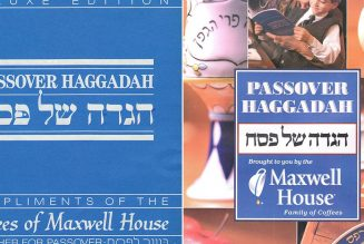 How the Maxwell House coffee company Haggadah became a Passover seder staple…
