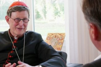 It's 'high time' to start restoring public liturgical life, says German Cardinal Woelki…