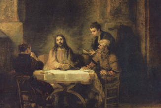 The Mass on the Move: Like the disciples on the road to Emmaus, the Mass draws us from gloom to glory…