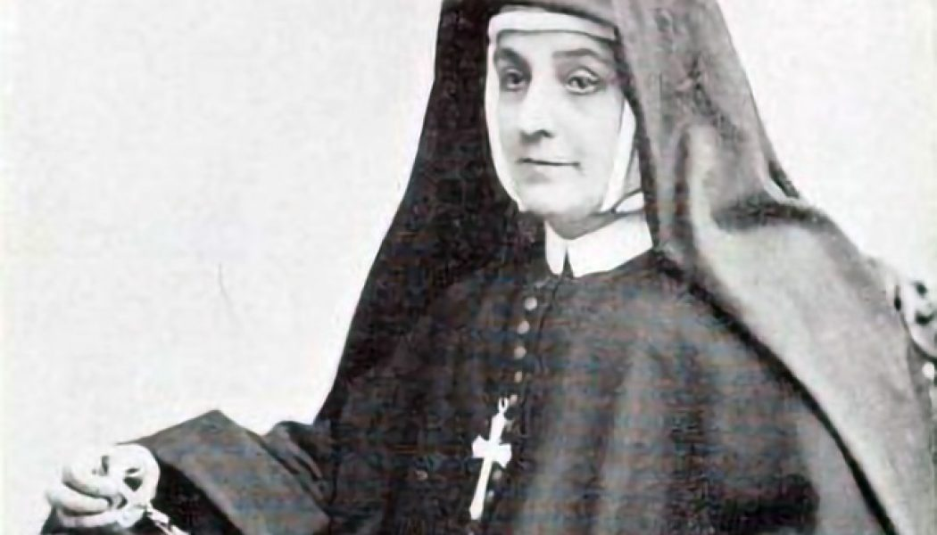 This American mystic nun lost her husband to the priesthood, and her children to her husband…