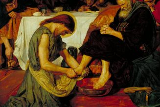 Why did Our Lord wash the feet of His disciples? The Greek text of John 13 is enlightening…..