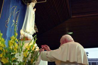 Fatima, Pope St. John Paul II and God's providence…