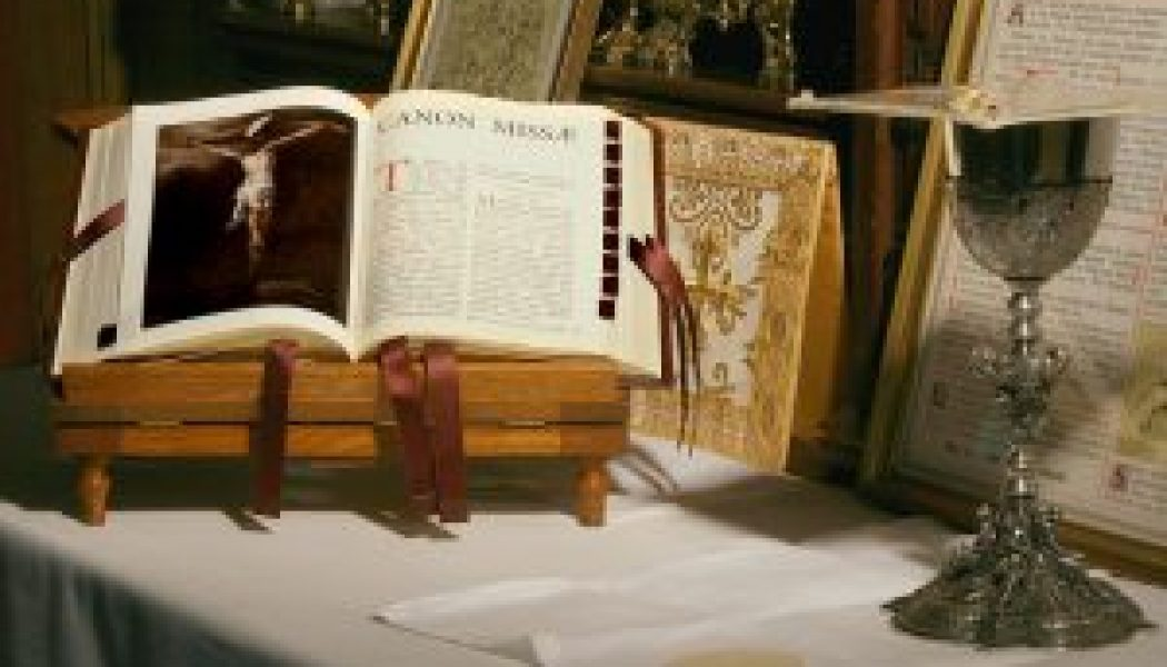 """News about the Traditional Latin Mass survey: """"The old Mass is not in danger…""""…"""