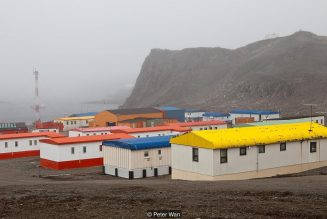 The icy Antarctic village where you must have your appendix removed before moving in…