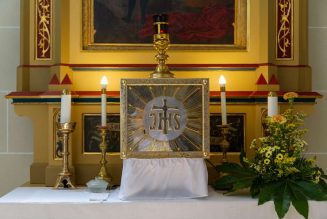 Blessed Sacrament and tabernacle stolen from North Carolina parish…