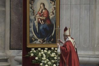 Pope Francis adds three new titles to Litany of the Blessed Virgin Mary…