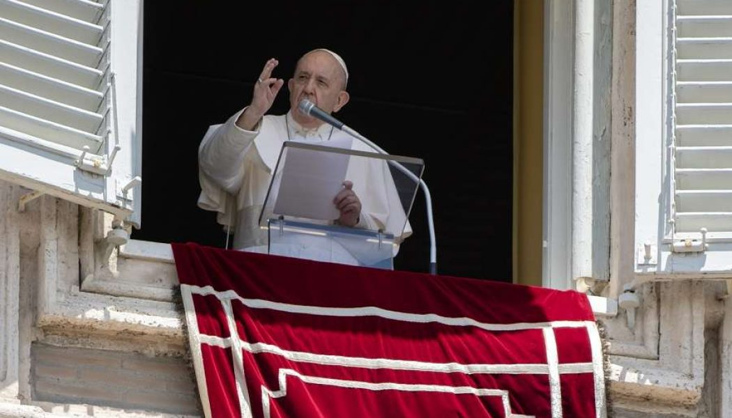 """Pope's Father's Day Angelus: Do not fear persecution; fear only """"moral death, which is the effect of sin""""…"""