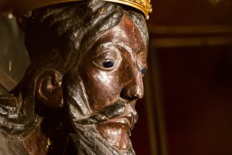 The Holy Face of Lucca, an 8-foot-tall crucifix, is found to be Europe's oldest surviving wooden statue…