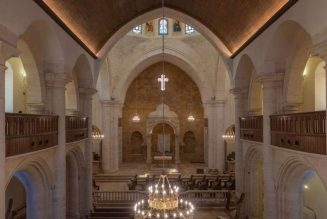 Catholic cathedral in Syria that survived missile attacks reopens after restoration…