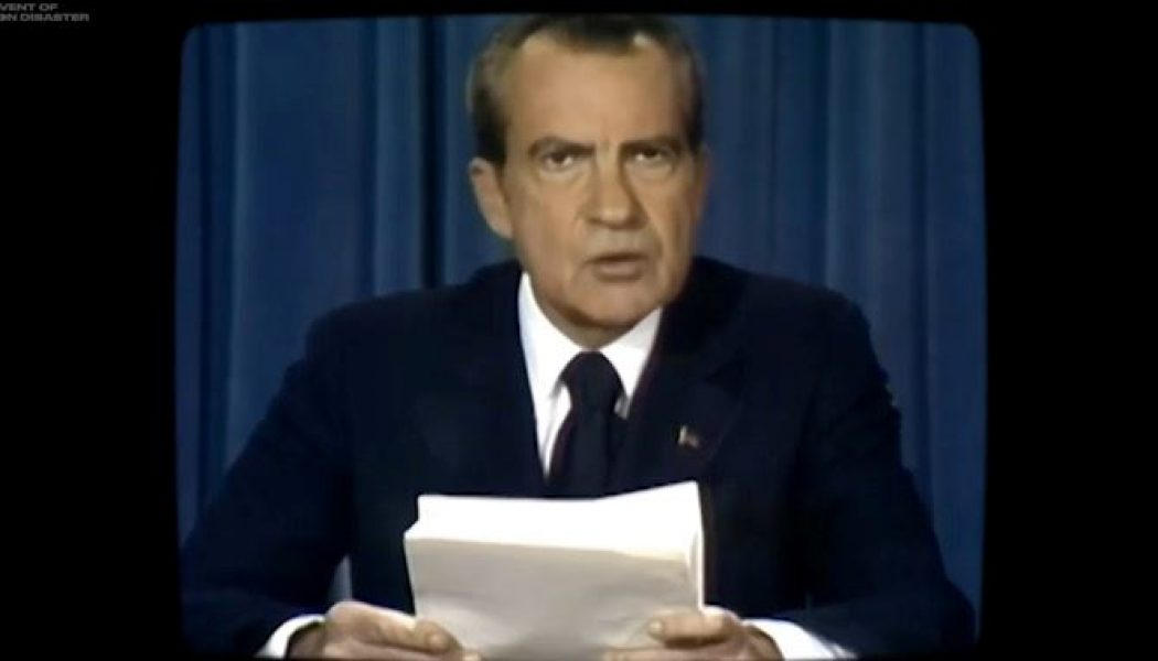 Deepfake video: The speech President Nixon would have given if Apollo 11's lunar module had crashed on the Moon…